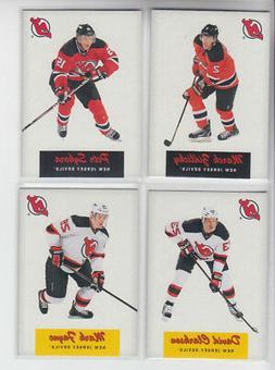 12/13 OPC New Jersey Devils Retro 4 cards - Clarkson Fayne S