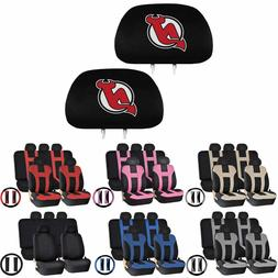 14 PC Universal-fit Car Seat Covers Steering Set for NHL New