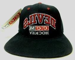 1990'S Vintage YOUTH New Jersey Devils Cap NHL Hockey CCM Sn