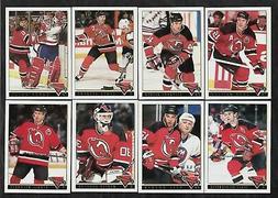 1993/94 Topps Premier GOLD New Jersey Devils Team Set Of 20