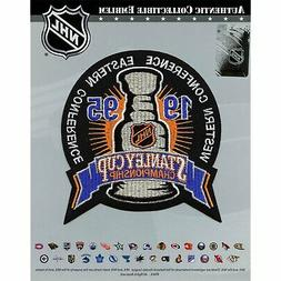 1995 NHL Stanley Cup Logo Jersey Patch New Jersey Devils Vs