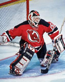 1996 New Jersey Devils MARTIN BRODEUR Glossy 8x10 Photo Hock