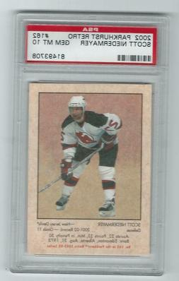 2002 Parkhurst Retro Scott NIiedermayer #162 Graded Card PSA