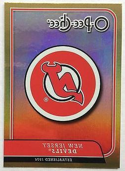 2008-09 NEW JERSEY DEVILS OPC O-PEE-CHEE CHECKLIST INSERT #C