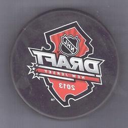 2013 NHL Draft Event NEW JERSEY DEVILS Souvenir PUCK - #3L