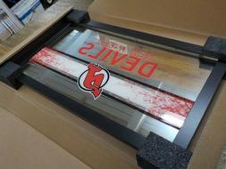 Trademark Gameroom NHL New Jersey Devils Framed Logo Mirror