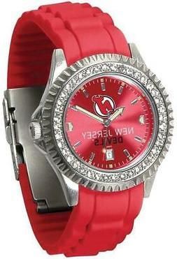 Gametime New Jersey Devils Ladies Sparkle Watch