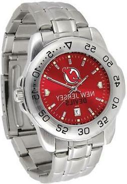 Gametime New Jersey Devils Sport Steel Watch