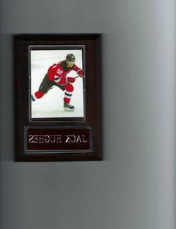 JACK HUGHES PLAQUE NEW JERSEY DEVILS NJ HOCKEY NHL