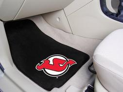New Jersey Devils 2-Piece Printed Carpet Car Mat Set