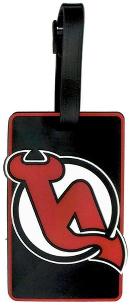 new jersey devils bag tag luggage tag