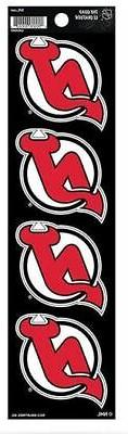 New Jersey Devils Decal 4 Pack Car Stickers The Quad Decal A