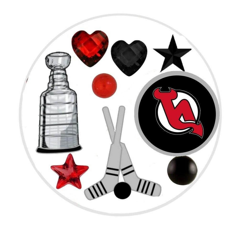 new jersey devils floating locket charms