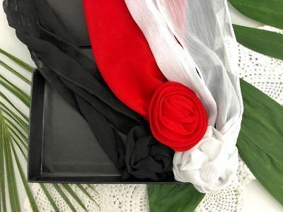 new jersey devils flowerclip scarf woman belt