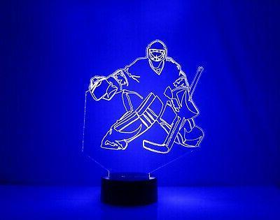 New - Personalized FREE NHL Fan Lamp