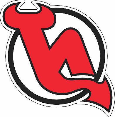 new jersey devils nhl hockey bumper sticker