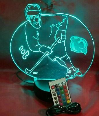 New Devils Hockey Up Lamp and Remote