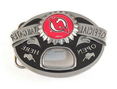 new jersey devils tailgater belt buckle 23113