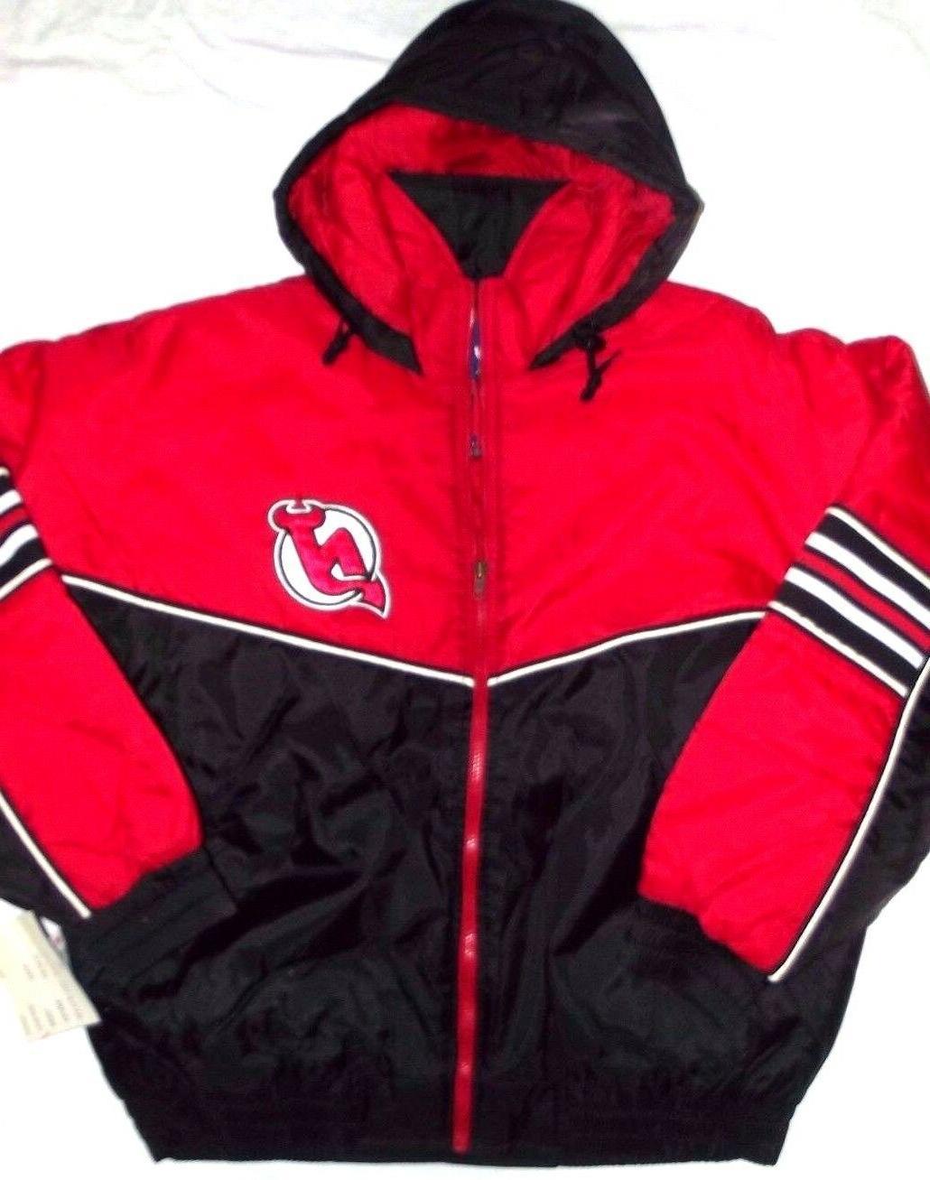 new new jersey devils red black vintage