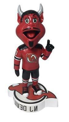 NJ Devil New Jersey Devils Logo Base Bobblehead NHL