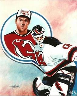 MARTIN BRODEUR 8x10 ART PHOTO  NEW JERSEY DEVILS #30 hockey