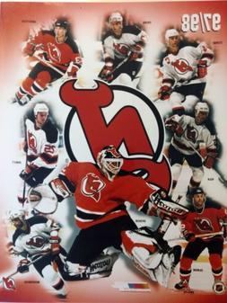 NEW JERSEY DEVILS 1997/98 NHL 8X10 TEAM COMPOSITE PHOTO