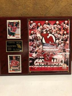 New Jersey Devils 2000 Stanley Cup Champions  Plaque Cards N