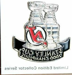 New Jersey Devils 2000 Stanley Cup Commerative Pin