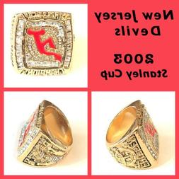 New Jersey Devils 2003 Championship Ring Size 11