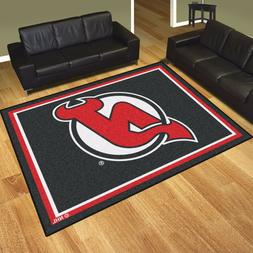 New Jersey Devils 8' X 10' Decorative Ultra Plush Carpet Are