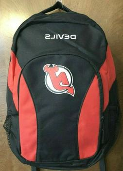 New Jersey Devils Backpack NHL Backpack - NWT
