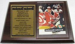 New Jersey Devils Brendan Shanahan Hockey Card Plaque