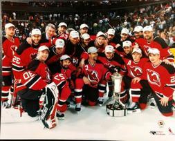 NEW JERSEY DEVILS Celebrate 2003 EASTERN CONFERENCE CHAMPION