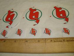 New Jersey Devils Hockey Cotton Fabric Iron-On Patches Appli