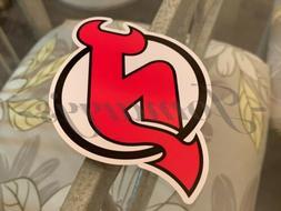 New Jersey Devils Hockey Team Logo NHL Sticker Decal Vinyl #