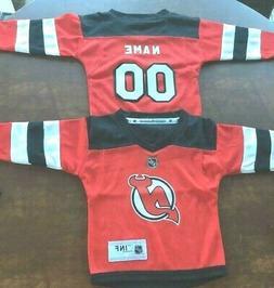 New Jersey Devils Infant  NHL Hockey Jersey add  any name &