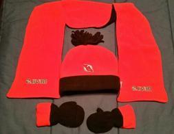New Jersey Devils Infant Scarf, Gloves, Knit Set