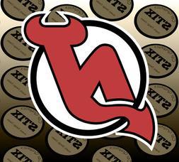 New Jersey Devils Logo NHL Die Cut Vinyl Sticker Car Window