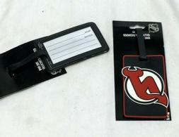 NHL New Jersey Devils Luggage Tag Travel Bag ID Golf Tag FRE