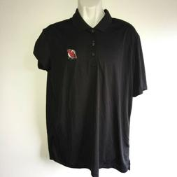 Adidas New Jersey Devils Mens GOLF Polo Shirt NHL Embroidere