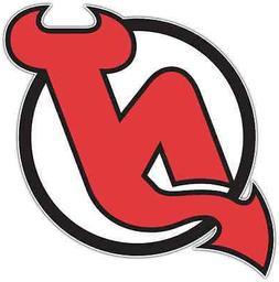 New Jersey Devils NHL Hockey Car Bumper Locker Notebook Stic