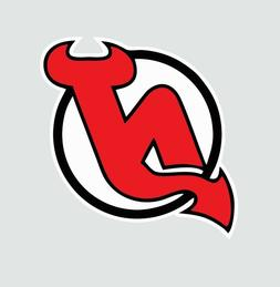 New Jersey Devils NHL Hockey Full Color Logo Sports Decal St