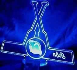 New Jersey Devils NHL Hockey Light Up Lamp LED NJ Devil Pers