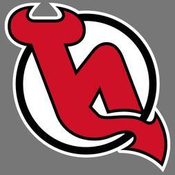 New Jersey Devils NHL Hockey Vinyl Sticker Car Truck Window