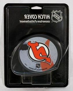 "New Jersey Devils NHL Plastic Trailer Hitch Cover for 2"" rec"