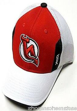 New Jersey Devils NHL Reebok Center Ice Draft Hat Cap Red Wh