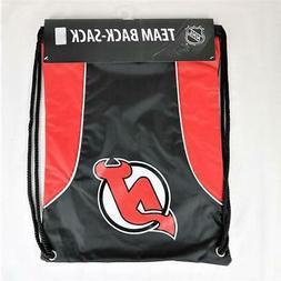 New Jersey Devils Officially Licensed NHL Back Sack Tote