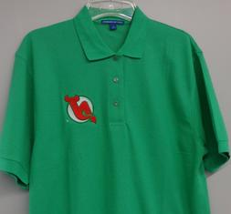 New Jersey Devils Original Colors Mens Embroidered Polo XS-6