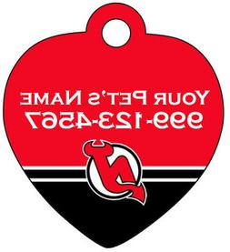 New Jersey Devils Pet Id Tag for Dogs & Cats Personalized w/