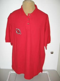NEW JERSEY DEVILS POLO SHIRT ADULT MENS XL RED NEW w/tags